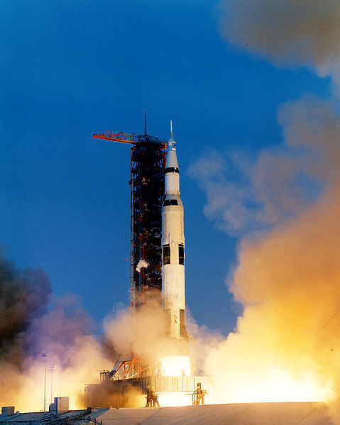 Apollo 13 liftoff, 11 April 1970