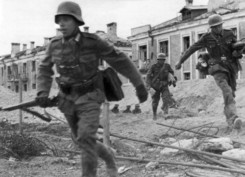 German troops in Stalingrad, 1942