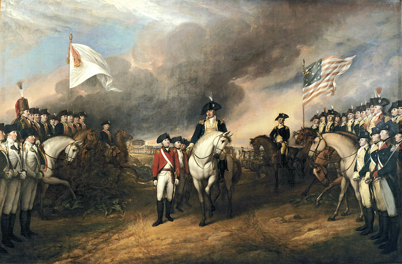 "Battle of Yorktown: ""Surrender of Lord Cornwallis,"" by John Trumbull"