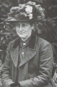 Photo of Beatrix Potter in 1912, taken by her father
