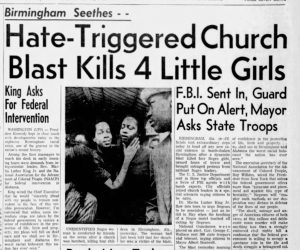 Headlines from the Birmingham Church Bombing (The Journal-News, via Newspapers.com)