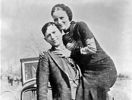 Bonnie and Clyde, circa 1932-1934
