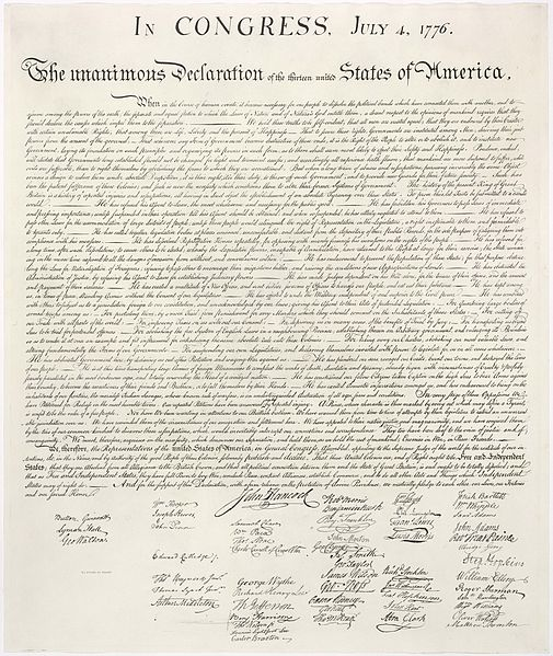 Declaration Of Independence  Topics On Newspaperscom