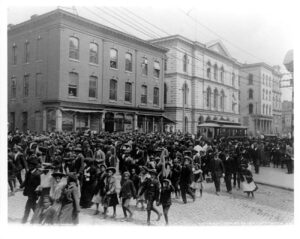 Emancipation Day (Juneteenth) in Richmond, Virginia, 1905