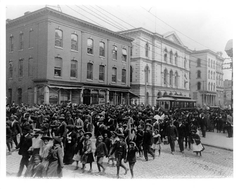 Emancipation Day in Richmond, Virginia, circa 1905