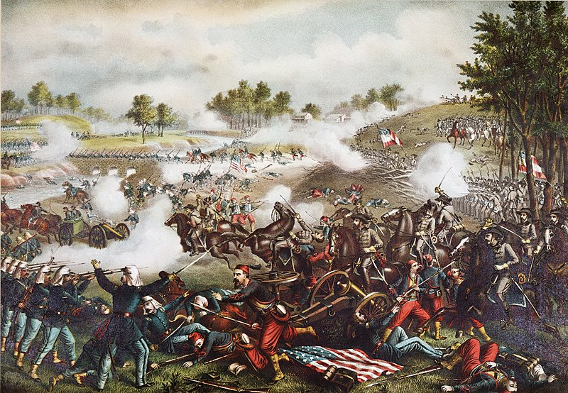 """First Battle of Bull Run,"" by Kurz & Allison"
