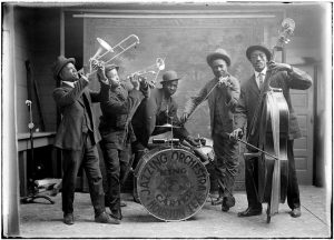 Carter And King Jazzing Orchestra, 1921