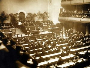 Opening of the League of Nations, 1920