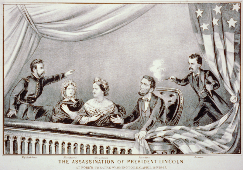 """The Assassination of Abraham Lincoln,"" by Currier & Ives, 1865"