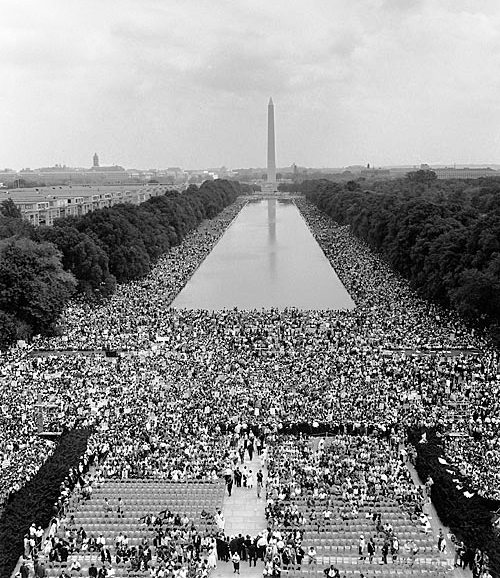 The March on Washington for Jobs and Freedom, August 28, 1963