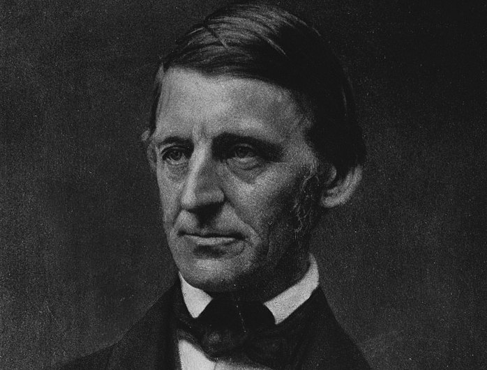 Photo-mechanical print of Ralph Waldo Emerson, Transcendentalist leader