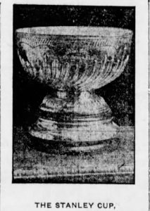 The Stanley Cup in 1907
