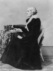 Susan B. Anthony, between 1880 and 1906