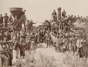 Completion of the Transcontinental Railroad, 1869
