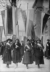 Women's Suffrage Picket Parade