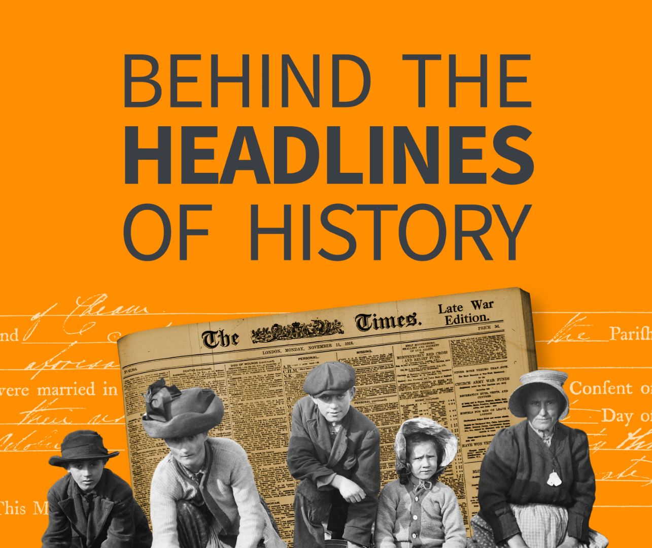'Behind The Headlines of History' podcast, Episode 8 (Halloween Special)